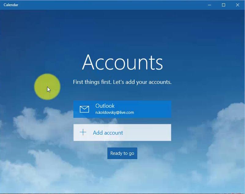 Как добавить аккаунт на планшет - 3d