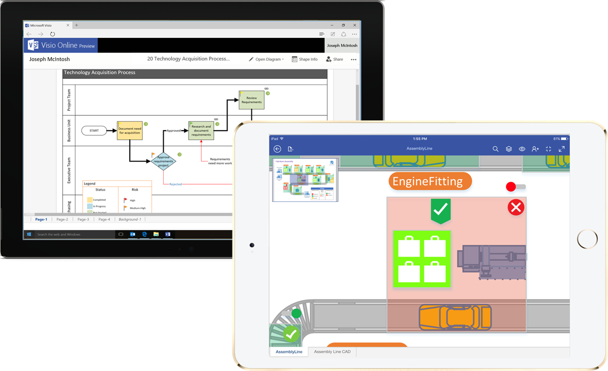 Flowchart Maker amp Diagramming Software Microsoft Visio